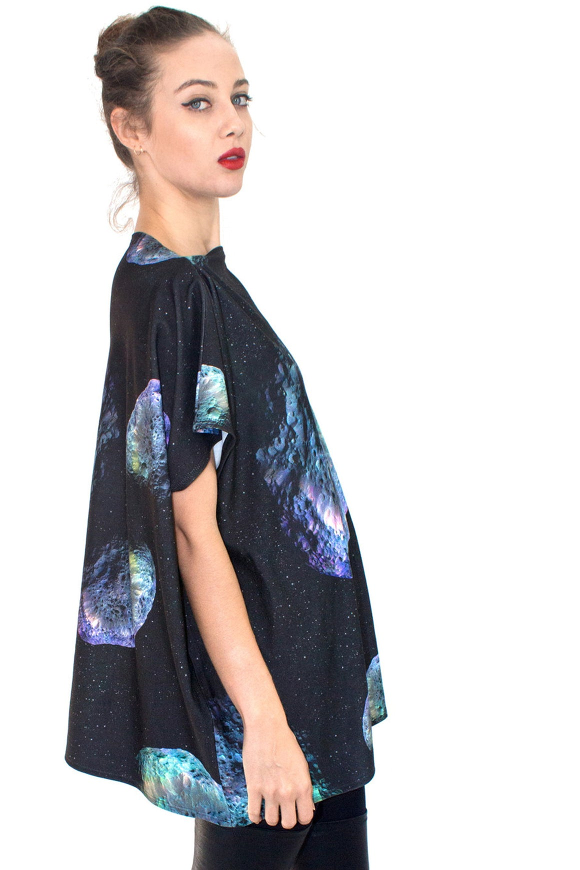 Hyperion Galaxy Top, Shadowplay New York, Galaxy Print Clothing