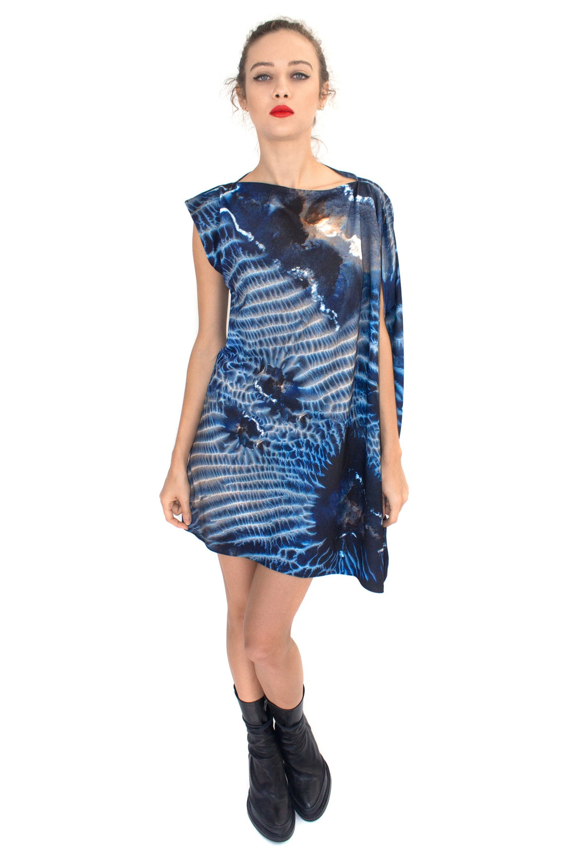 Mars Dunes Jersey Dress, Shadowplay New York, Mars Print, Mars Clothing