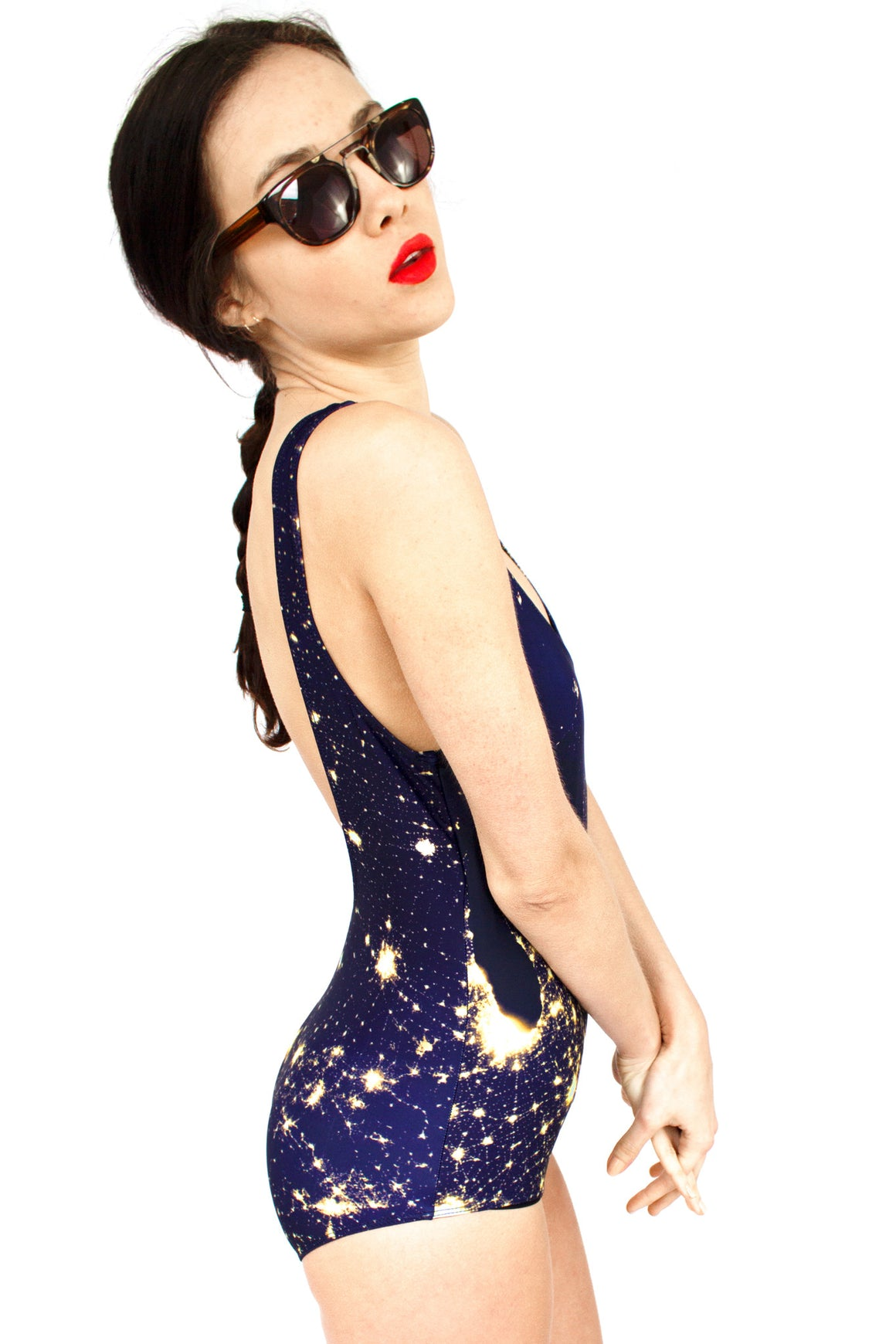 Galaxy Swimsuit, Galaxy One piece, Galaxy Clothing, Shadowplaynyc
