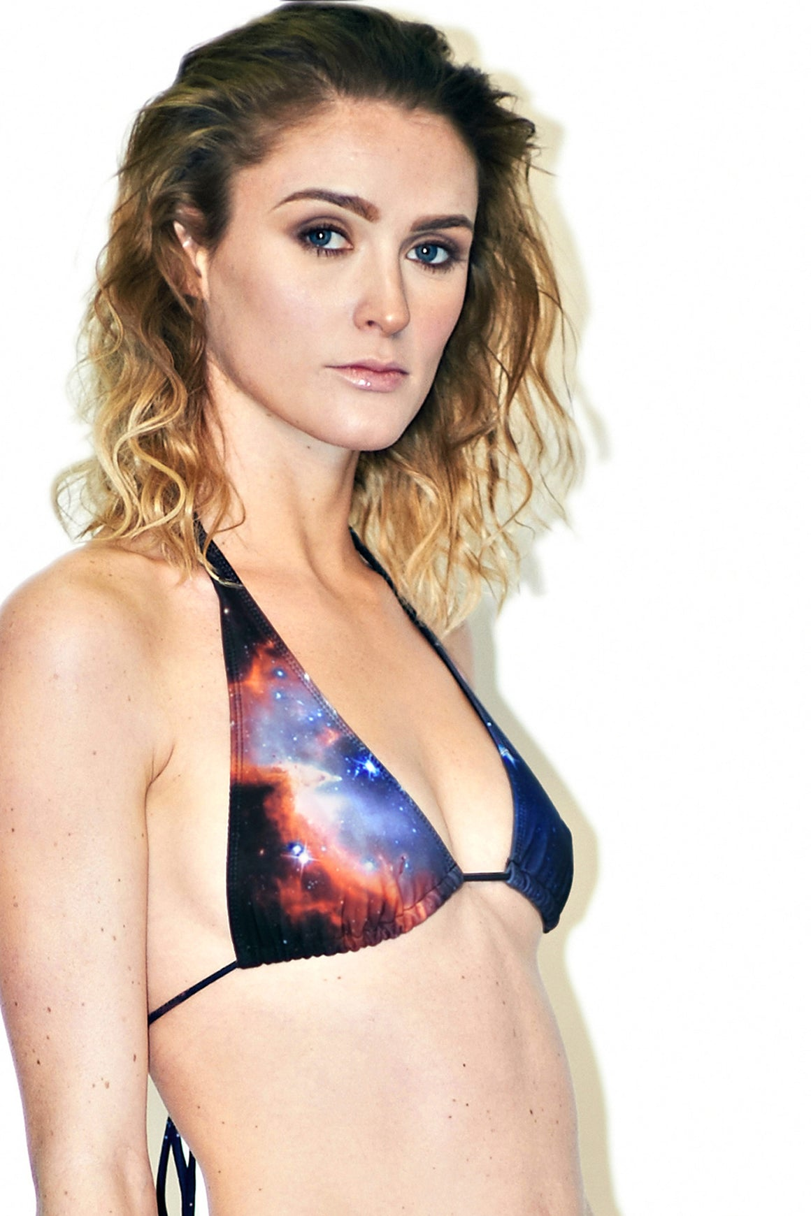 Sagan Galaxy Bikini, Galaxy Print Swimsuit, Galaxy Print Clothing, Shadowplaynyc