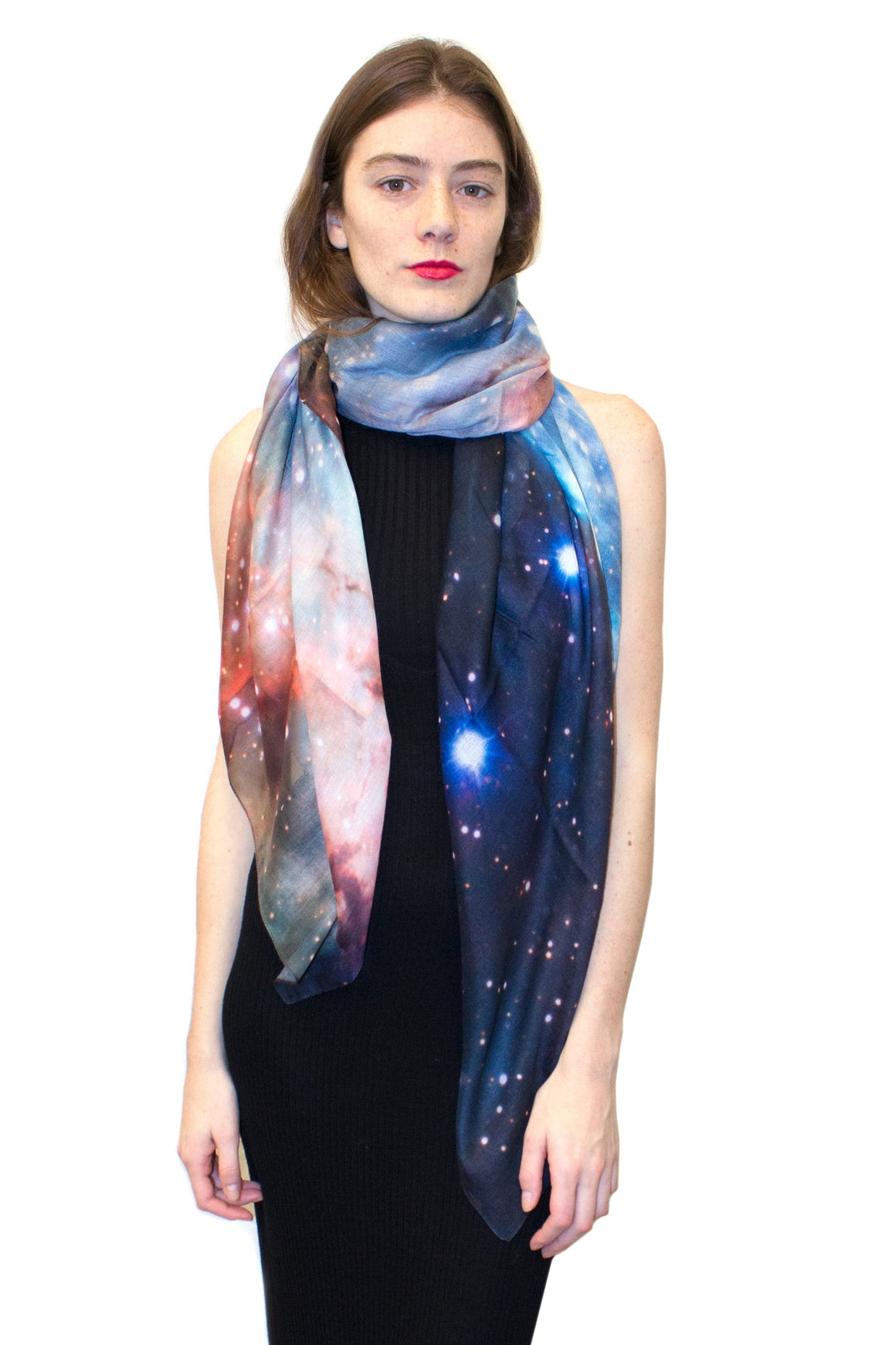 Thor Nebula Scarf, Shadowplay New York, Galaxy Clothing