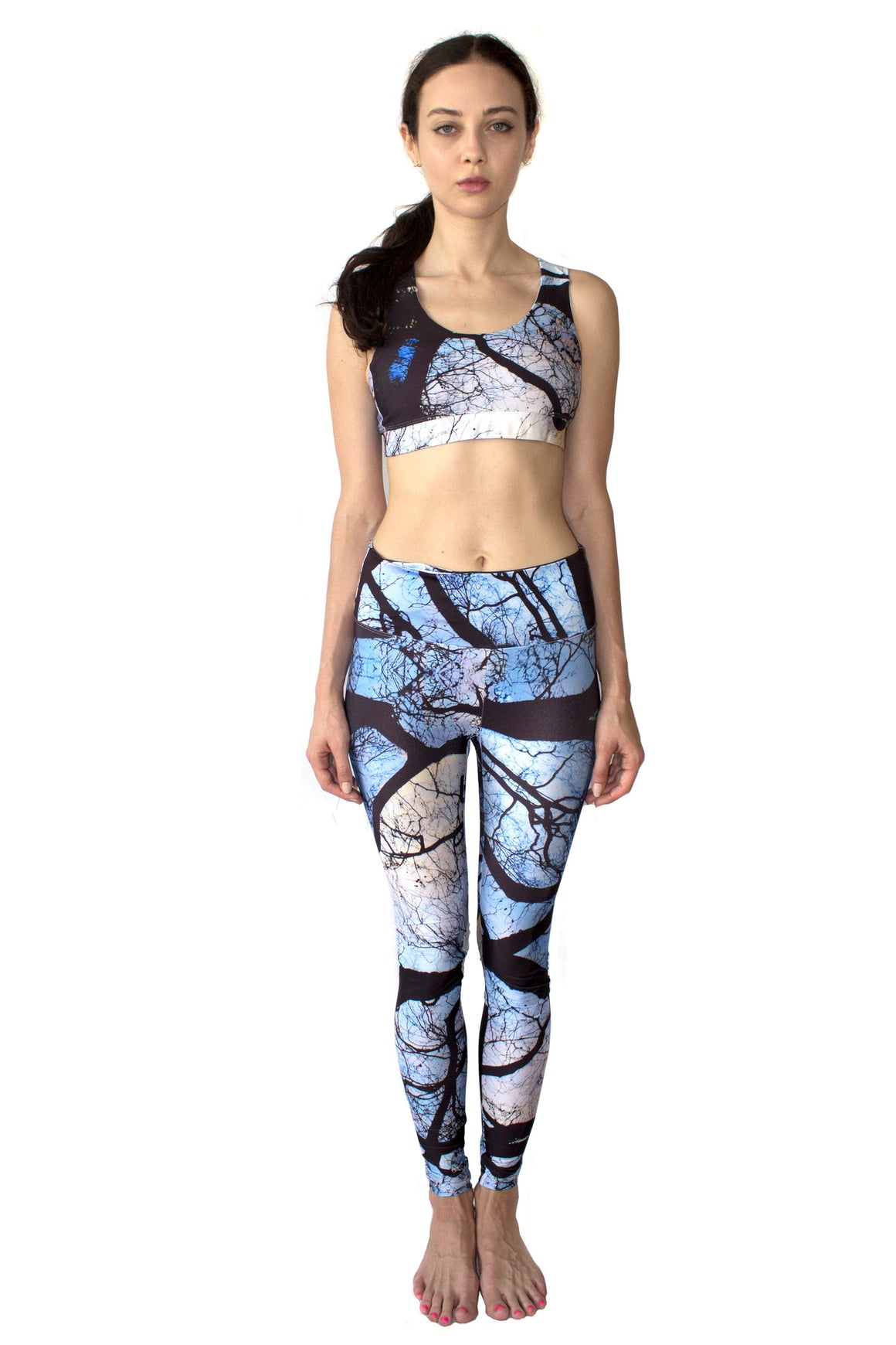 Tree Print Leggings