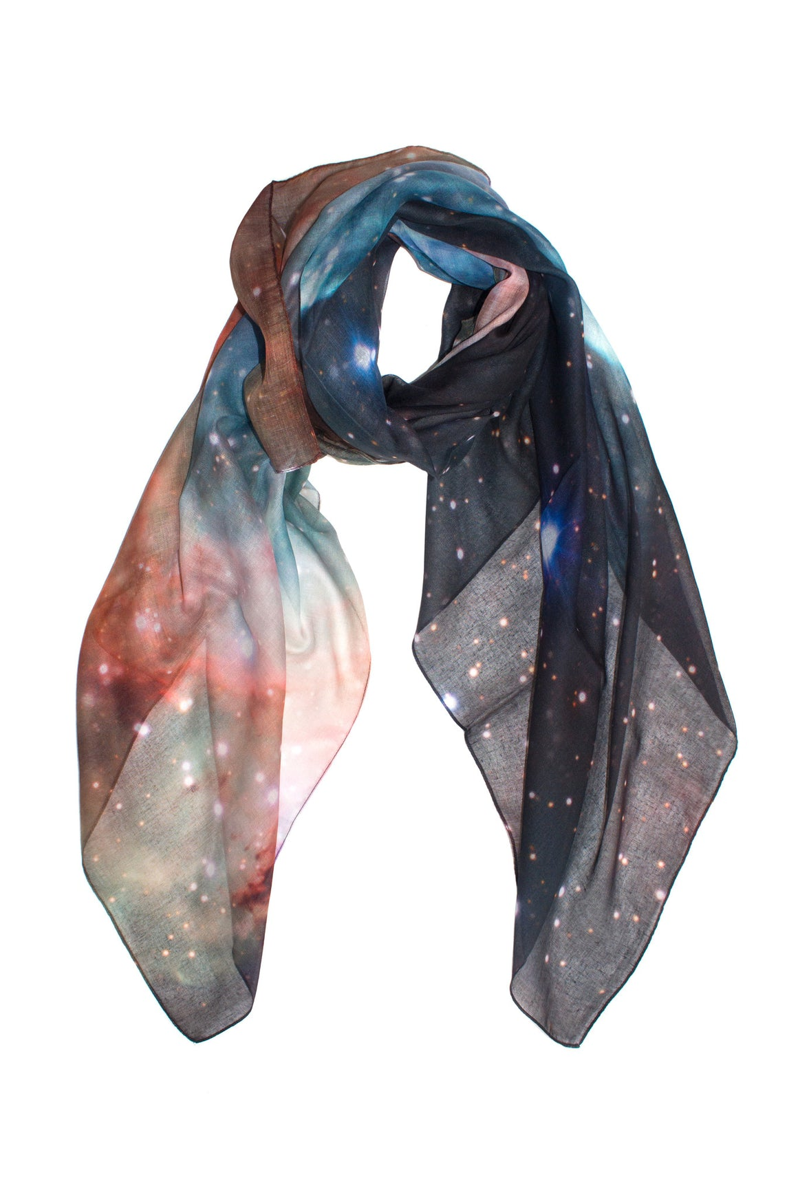 Mens galaxy scarf