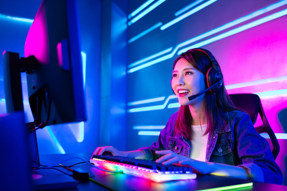 A Gamer S Paradise Gaming Setup Ideas With Smart Lighting