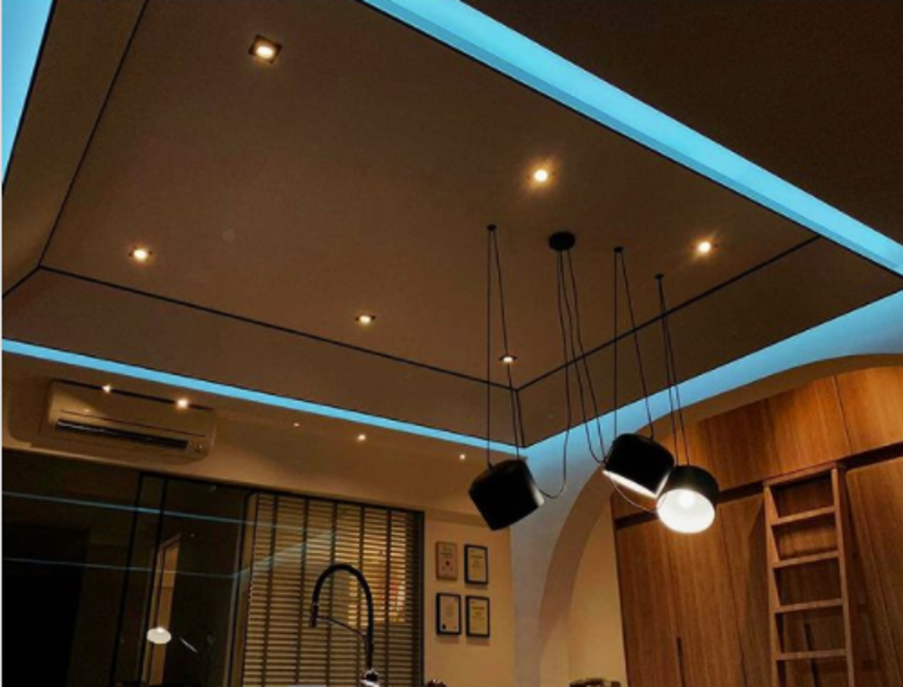 smart led strip lights setup