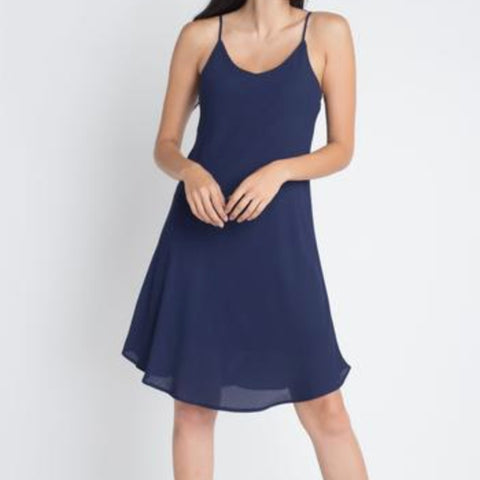 Casual Sleeveless Flowy Dress