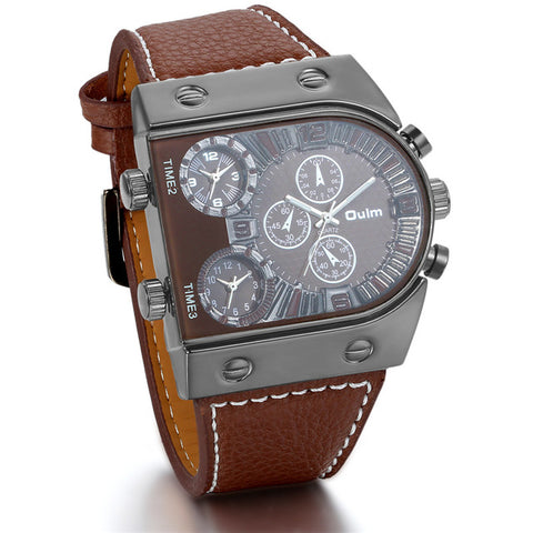 Big fashion style men's watch