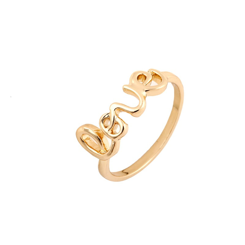 Love Alloy Ring