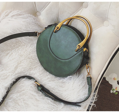Crossbody Round Handbag