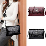 black women's crossbody bag