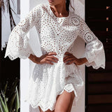 Loose Short Dress
