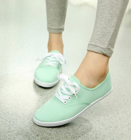 Candy Color Flat Shoes