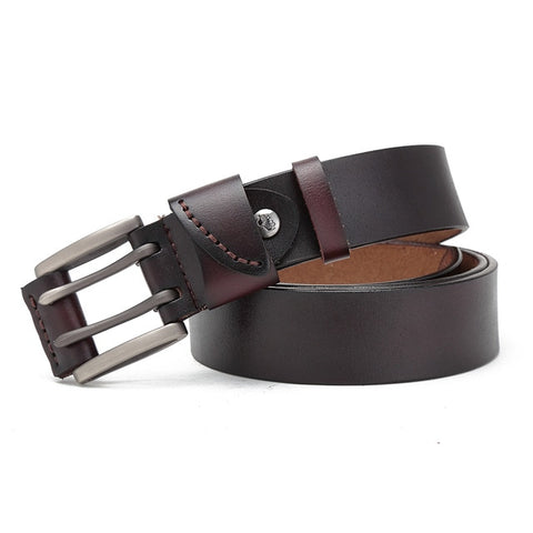 Leather Double Pin Belt
