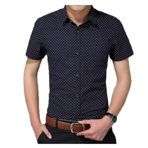 Sleeveless men's button, elegant fit black cut shirt