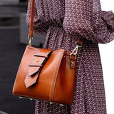 Genuine leather beautiful, classy, high fashion crossbody bag