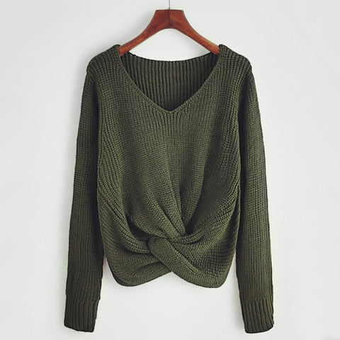 Flagstaff Cross Knotted Sweater