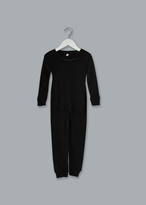 Adult Cotton Two-Piece Pajamas