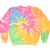 Adult Tie-Dye Crewneck Fleece Sweatshirt (Unisex) juju + stitch  custom personalized script embroidered tie dye crewneck fleece sweatshirt