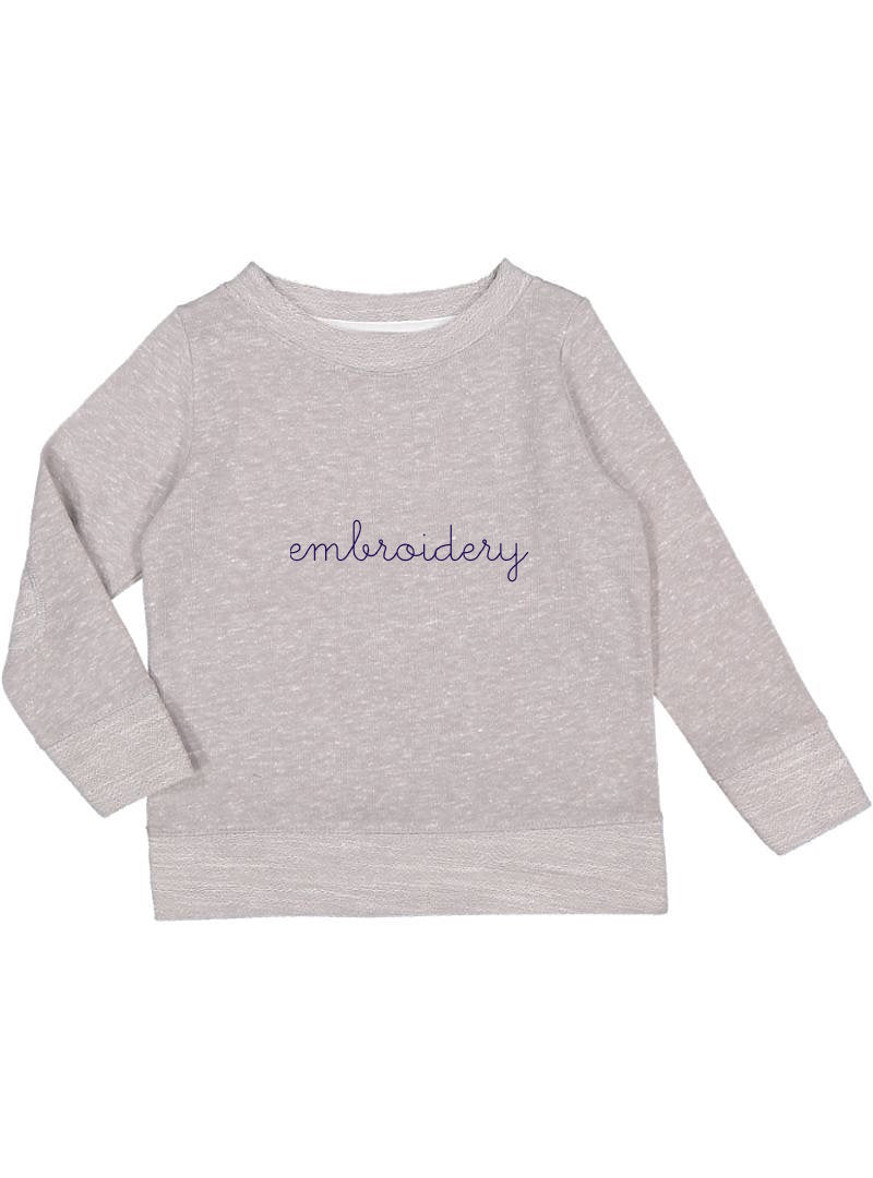 Little Kids French Terry Longsleeve
