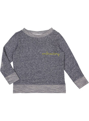 New! Big Kids French Terry Longsleeve