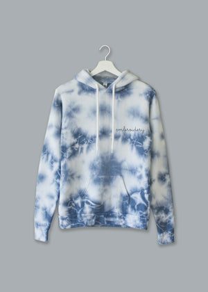 Adult Supersoft Marbled Tie-Dye Hoodie