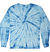 Kids Tie-Dye Longsleeve Shirt juju + stitch KIDS 2-4 / Spiral Baby Blue custom personalized script embroidered tie dye kids longsleeve shirt