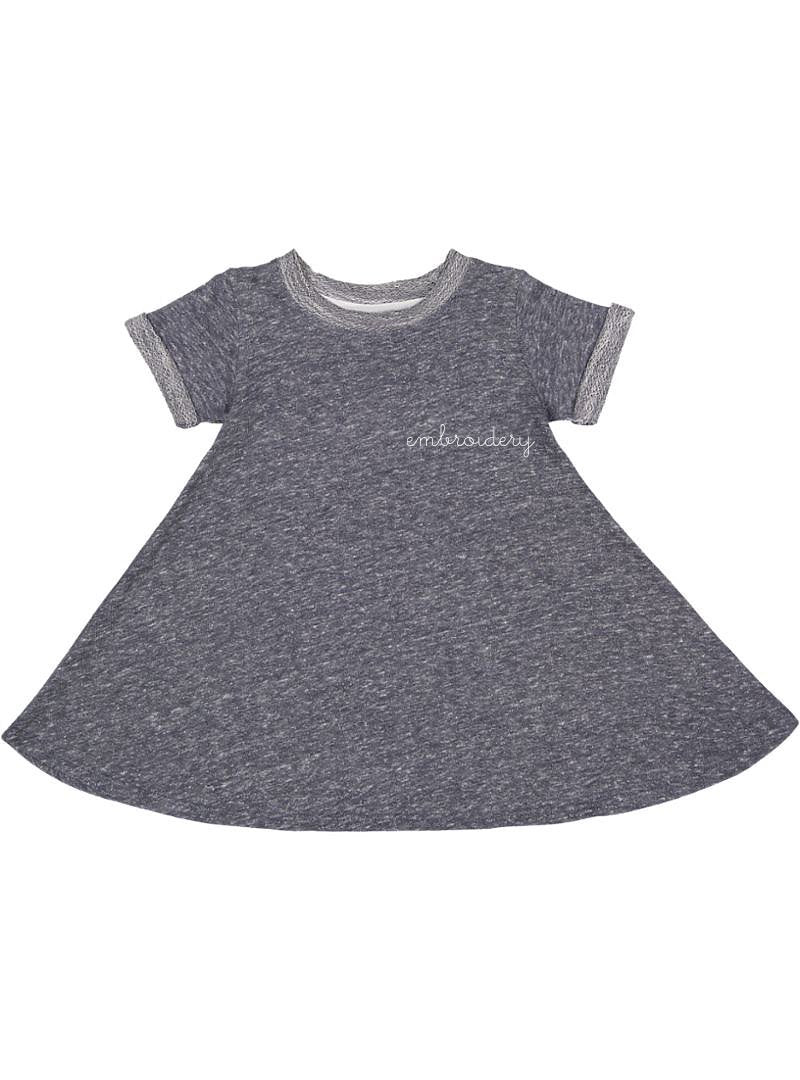New! Big Kids French Terry Dress