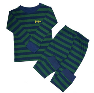 New! Little Kids Striped Two-Piece Pajamas