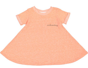 New! Little Kids French Terry Dress