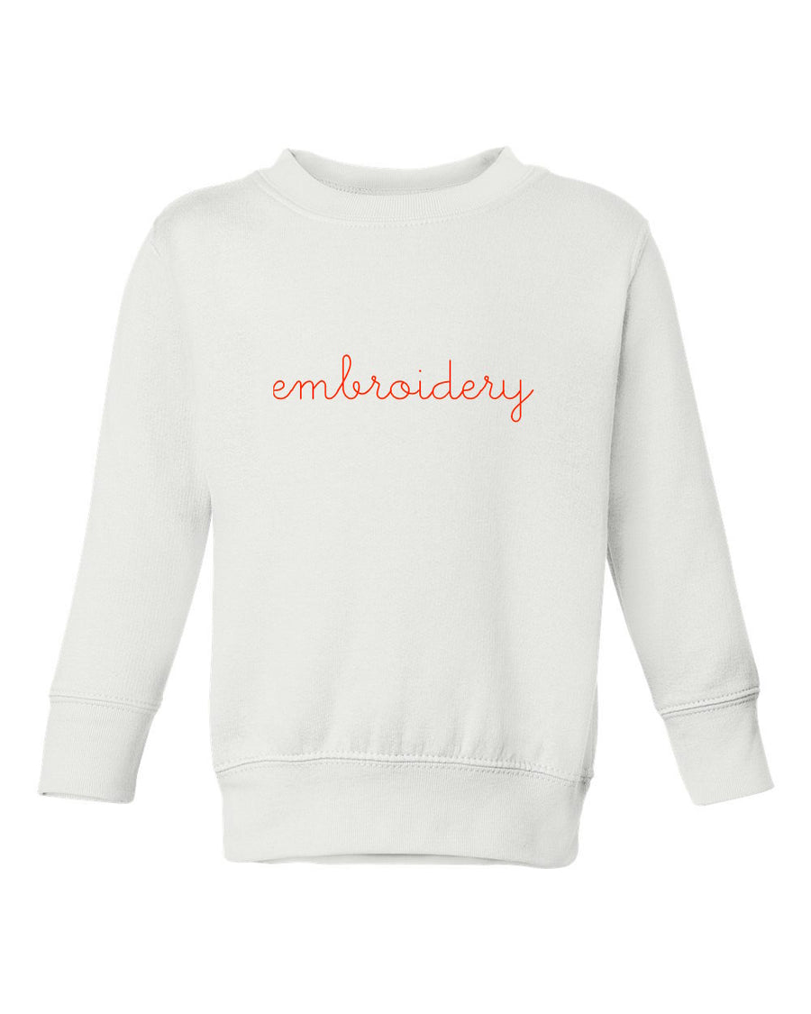 Little Kids Classic Crewneck Sweatshirt