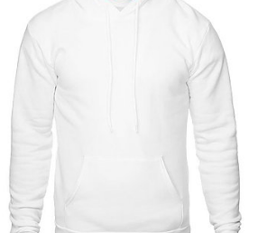 Adult Supersoft Classic Hoodie (Unisex) juju + stitch Adult XS / White custom personalized script embroidered hoodie