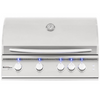 Summerset Sizzler Pro 32-Inch 4-Burner Built-In Gas Grill With Rear Infrared Burner - SIZPRO32-NG