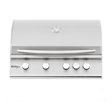 "Summerset Sizzler 32"" 4-Burner Built-in Propane Grill SIZ32-LP"