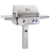 "AOG L-Series 24"" In-Ground Post Mount Grill 24NGL"