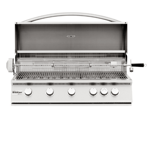 "Summerset Sizzler 40"" 5-Burner Built-in Propane Grill - SIZ40-LP"