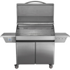 Memphis Grills Elite Wi-Fi Controlled 39-Inch 304 Stainless Steel Pellet Grill - VG0002S