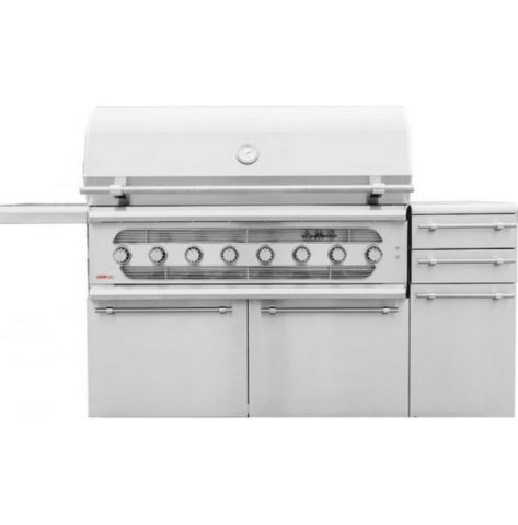 Summerset AMG 54-Inch 8-Burner Dual Fuel Wood / Charcoal / Propane Gas Grill - AMG54-LP