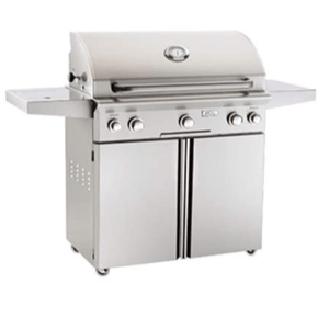 "American Outdoor Grill 36"" Portable ""L"" Series Gas Grill (Optional Rotisserie and Side Burner)"