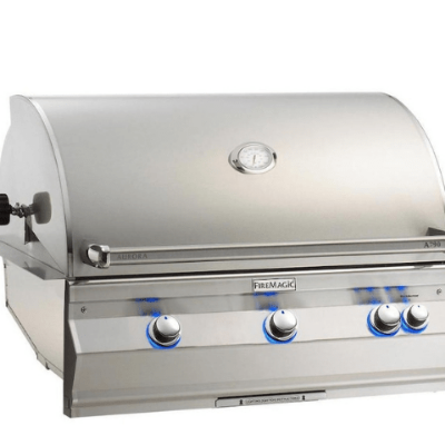 Fire Magic Aurora A790i Built-In NG Grill with Analog Thermometer- A790I-7EAN