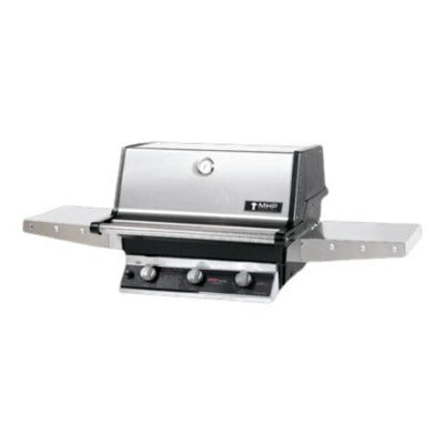 MHP Grills Liquid Propane with Stainless Steel Shelves and SearMagic Grids TRG2-PS
