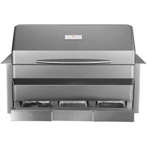 Memphis Grills Elite Wi-Fi Controlled 39-Inch 304 Stainless Steel Built-In Pellet Grill - VGB0002S