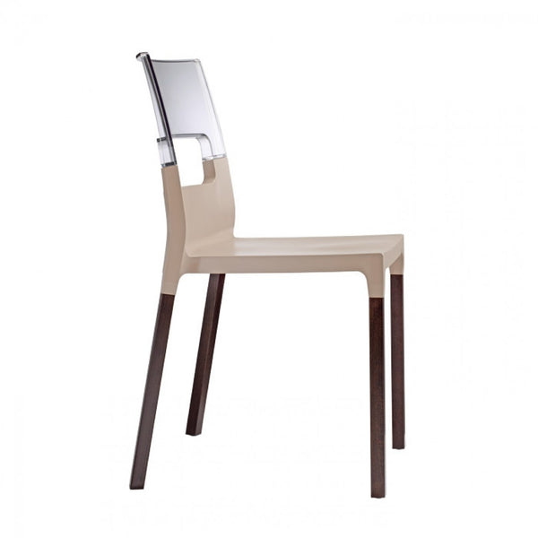 DIVA NATURAL CHAIR - WOOD LEGS - Interra Designs PO