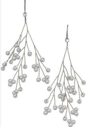 Nia Pearl Drop Earrings