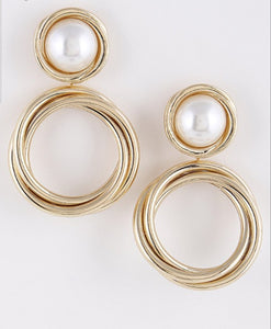 Alyssa Pearl Drop Earrings