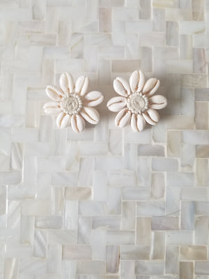Renee Shell Stud Earrings