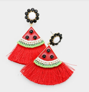 Sina Tassel Earrings