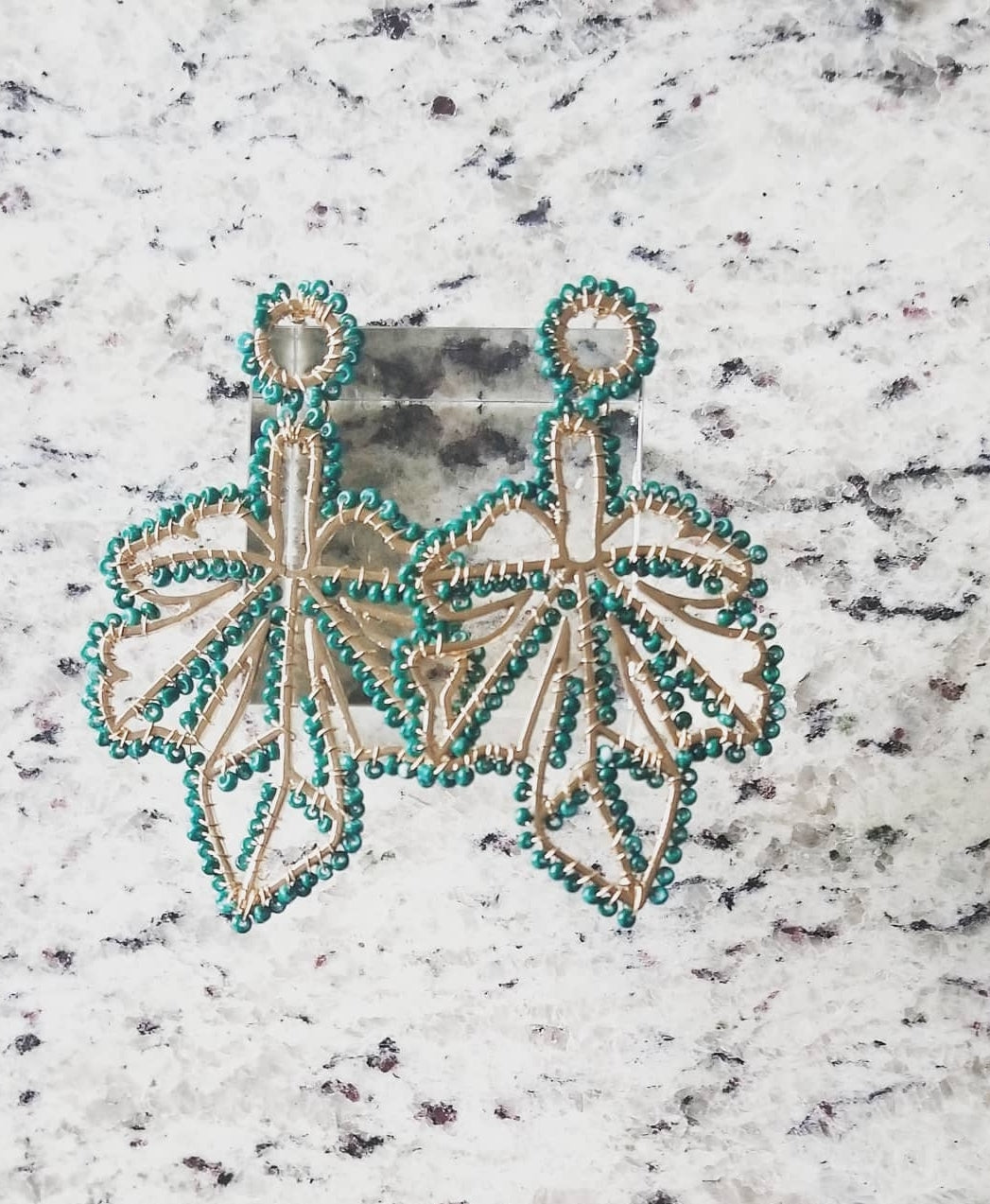 Mary Jane Drop Earrings