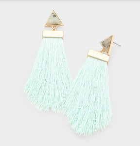 Amina Tassel Earrings