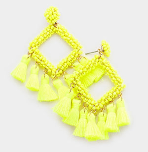 Shayne Tassel Drop Earrings