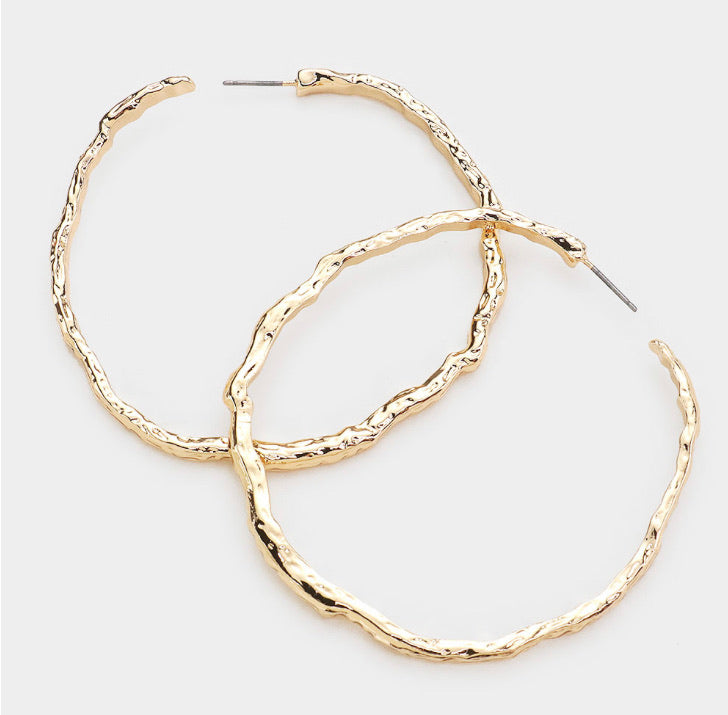 Nisa Hoop Earrings